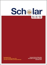 View Vol. 6 No. 2 (2014): Scholar