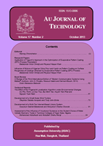 AU Journal of Technology